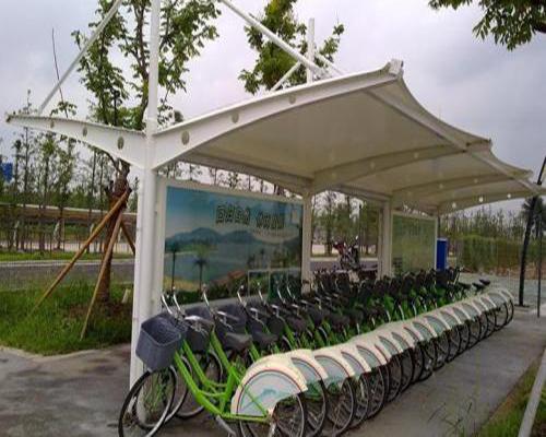 无锡自行车停车棚