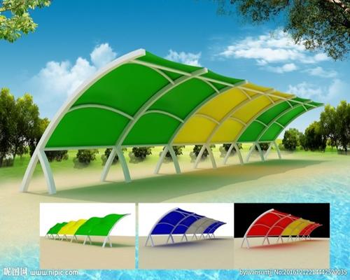 上海海滩景观膜结构