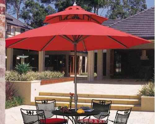 圆形遮阳伞