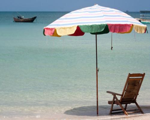 海滩遮阳伞