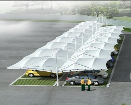 帅奇膜结构停车棚