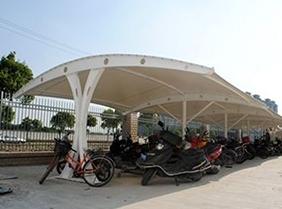 上海斜拉式膜结构停车棚