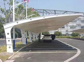 江苏钢膜结构停车棚